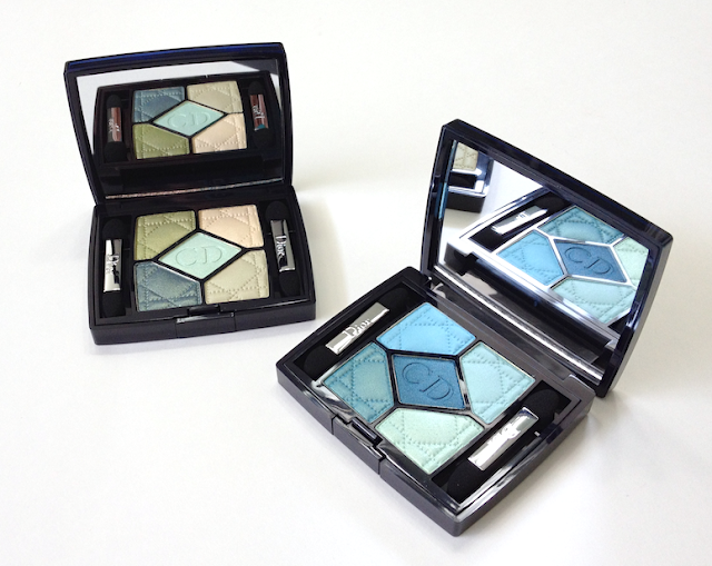 Dior Birds of Paradise Summer 2013  Blue Lagoon and Peacock 5-Couleurs Eyeshadow Palettes