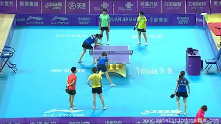 Siaran Langsung turnamen tenis meja china