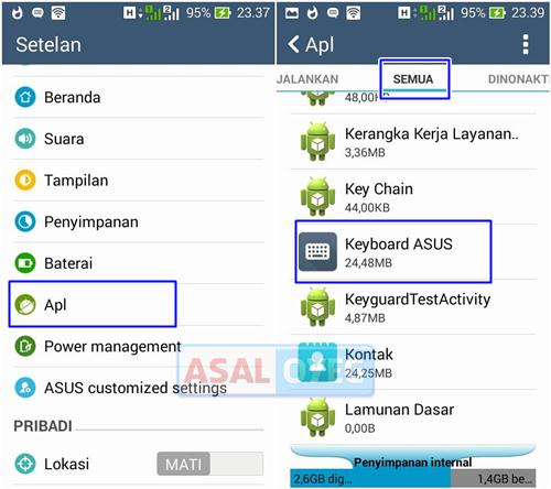 mengatasi keyboard error di android