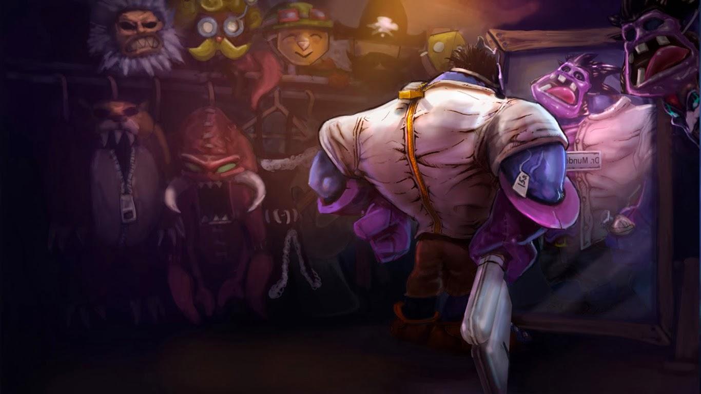 Dr Mundo Costume League of Legends t7 Wallpaper HD