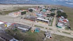Praia do Mar Grosso - Foto Aerea