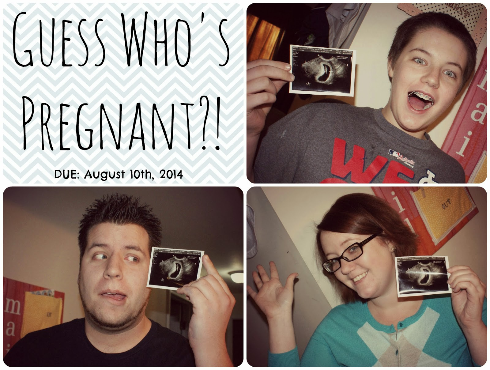 Facebook Pregnancy Announcement