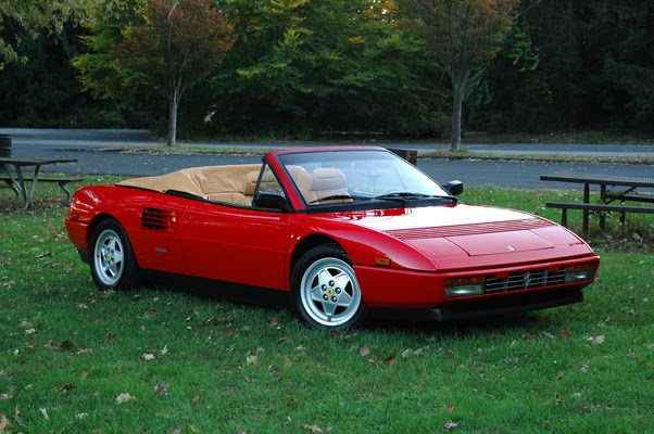 legendary cars ferrari mondial 1980 1993. Black Bedroom Furniture Sets. Home Design Ideas