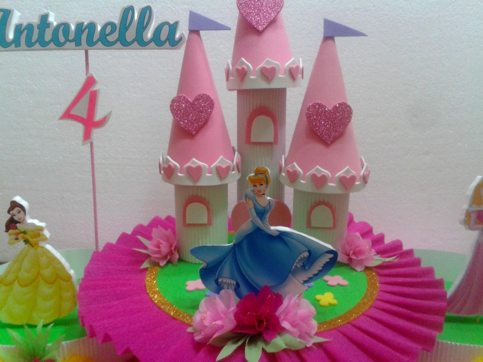 Decoraciones infantiles princesas - Decoracion de mesas infantiles ...