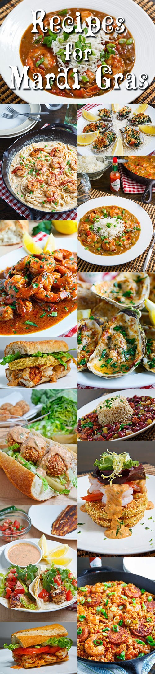 Recipes for Mardi Gras