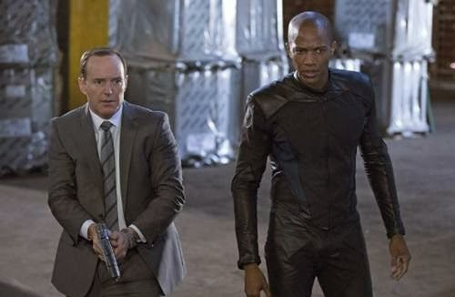 Review, Clark Gregg and J. August Richards in Agents of S.H.I.E.L.D.