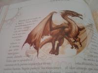 Dibujo de un dragón