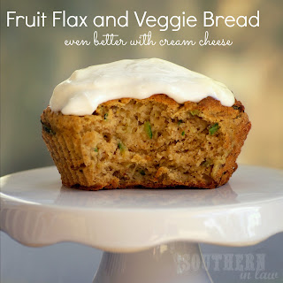 Pumpkin, Zucchini and Banana Muffins with Cream Cheese Frosting