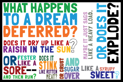 raisin sun dreams deferred essay