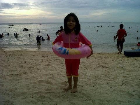 1st time mandi laut