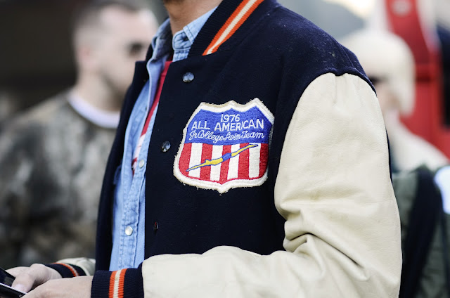 Paris, France, Street Style, Varsity Jacket, Letterman Jacket, US, High School, College