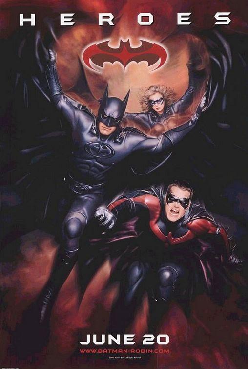 Batman and Robin movie poster