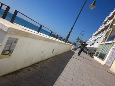La Punta viewpoint in Sant Pol de Mar