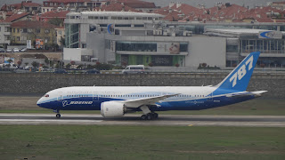 Boeing 787 Istanbul
