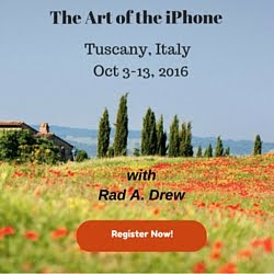 iPhoneography Workshop in Tuscany, Italy!