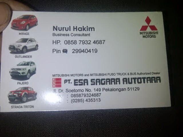 Dealer Resmi Mitsubishi Pekalongan Jawa Tengah