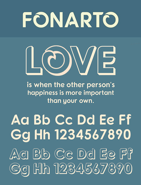 Fornato font