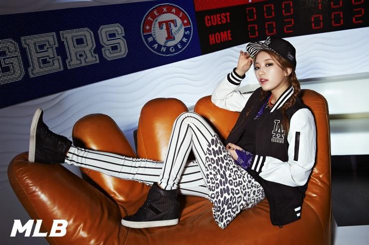 Suzy miss A LA Dodgers MLB CF