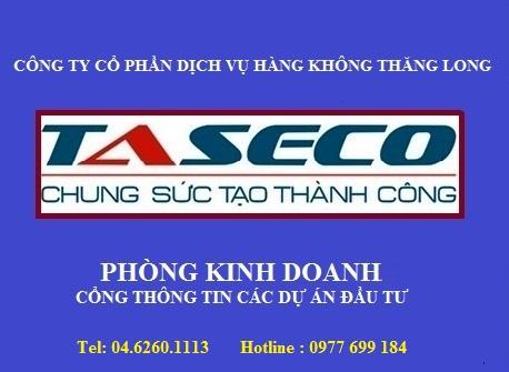 TASECO THÔNG TIN DỰ ÁN ĐẦU TƯ