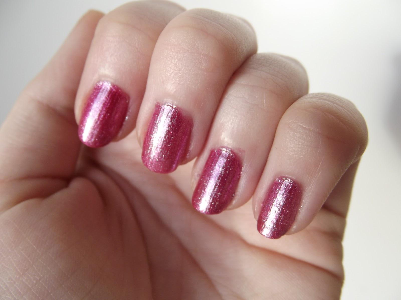 MonkeySocks90: MUA - Fairy Dust Nails - Rose Dust