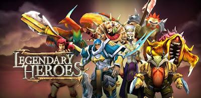 [Dicas de jogos] Desenvolvedora brasileira lança Legendary Heroes para Android