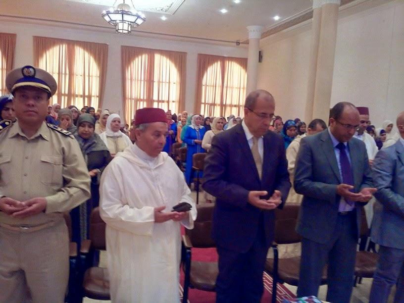 تاونات: مندوبية الاوقاف والشؤون الاسلامية تكرم المتفوقين في برنامج محو الامية