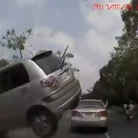E se um carro voar em sua direção?