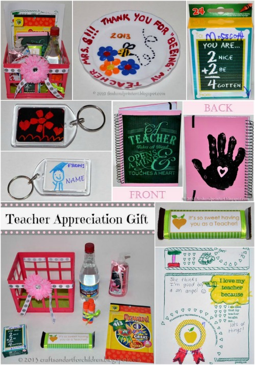 Teacher Appreciation End of School Year Gift