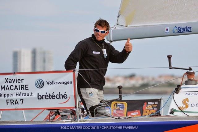 Xavier Macaire vainqueur de la course offshore de la Solo Maitre CoQ