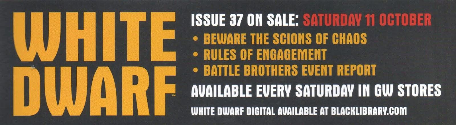 Adelanto de la White Dwarf Weekly número 37
