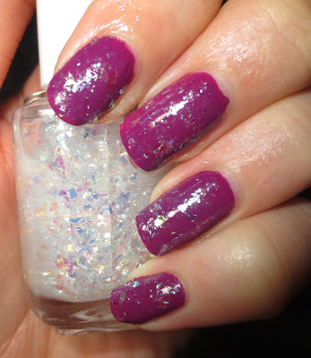 Essie Sparkle on Top