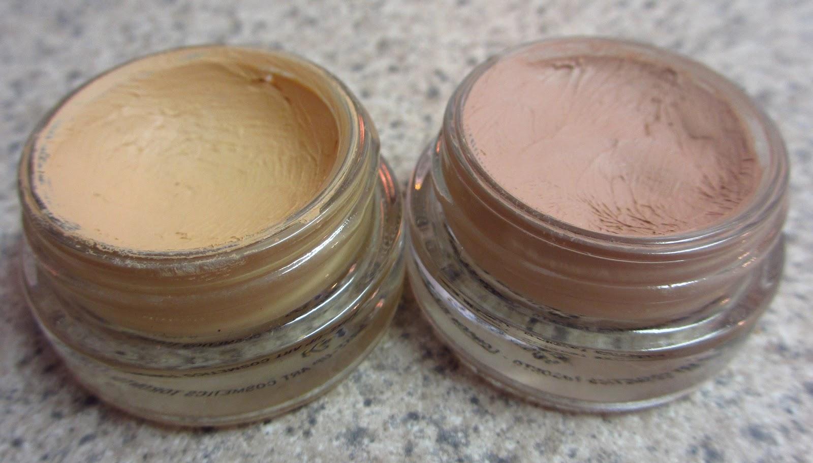 eyeshadow addicts anonymous painterly vs soft ochre mac paint pots