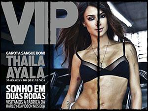 Revista Vip Outubro 2013 :: Thaila Ayala