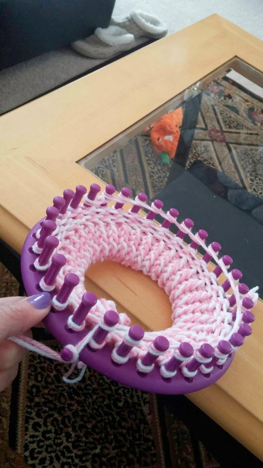 Corky Crafts & Knit Hats: Loom Knitting a Dog Sweater