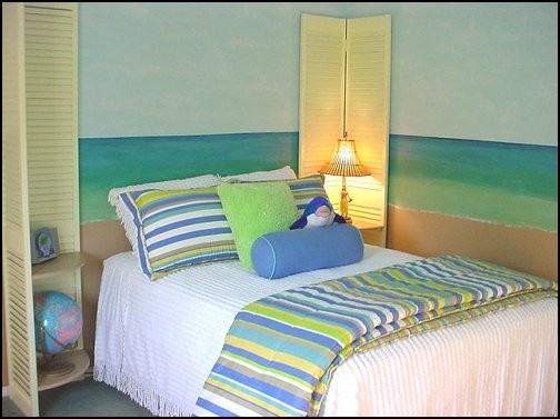 Decorating theme bedrooms maries manor beach theme for Blue beach bedroom ideas
