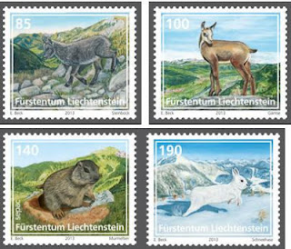 Liechtenstein: Young animals of the Alpine region