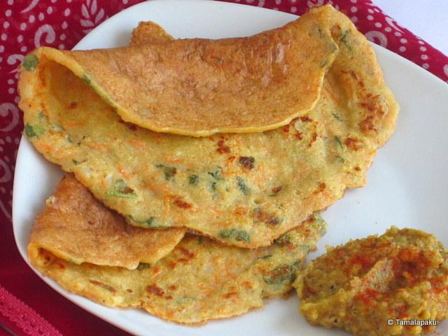 Instant Soya Uthappam