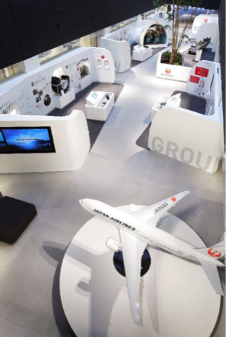 JAL SKY MUSEUM - Aviation Job Area