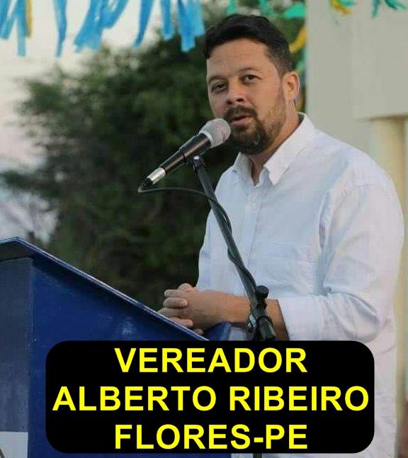 Vereador Alberto Ribeiro