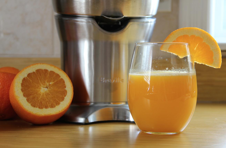Breville Citrus Press - orange juice