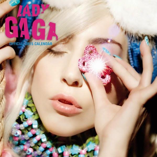 Calendario 2015 Lady Gaga