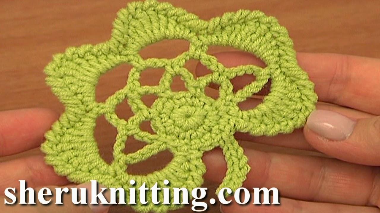 Sheruknitting: Crochet Leaf Pattern