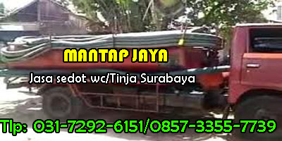 Sedot Tinja Surabaya Barat