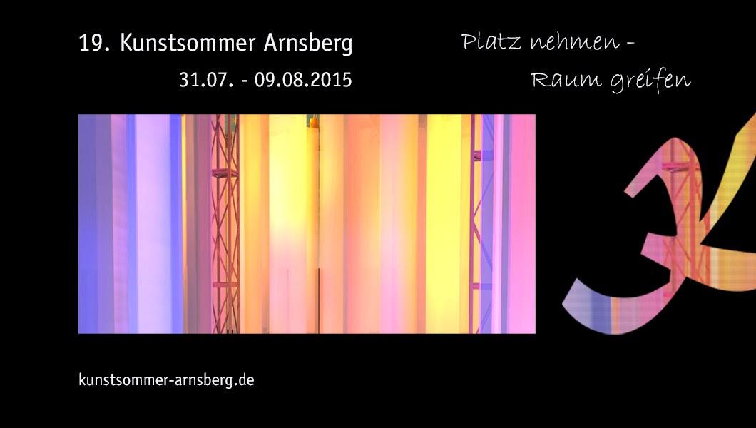 Kunstsommer Arnsberg Blog 2015