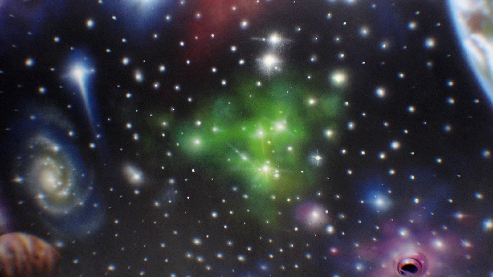 Duque decoracion con planetas y estrellas for Decoracion con estrellas