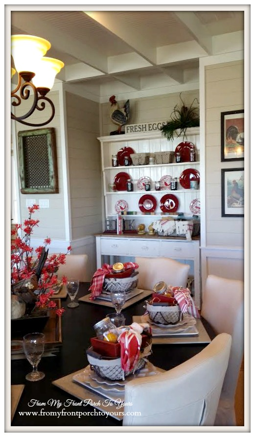 Texas Farmhouse Hutch-RoundTop Texas-Trendmaker Homes-From My Front Porch To Yours