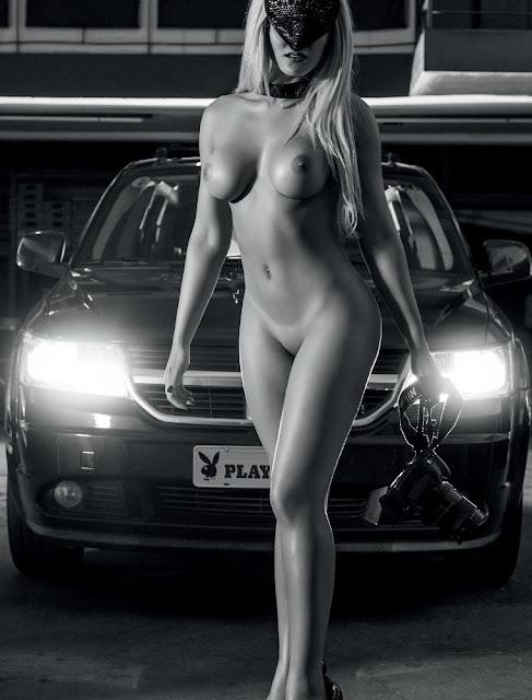 Fotos Lu Ferreira nua e pelada - Paparazzo Misteriosa  - Playboy Brasil