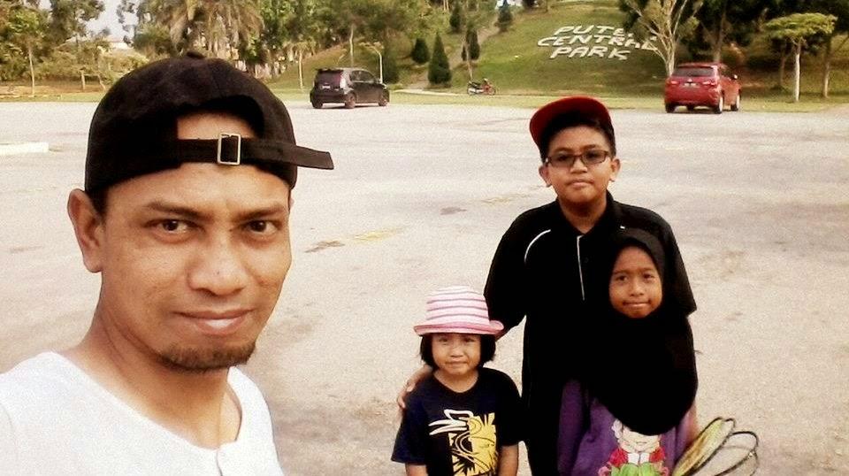 Puteri Central Park di Bandar Tasik Puteri, Rawang, Selangor