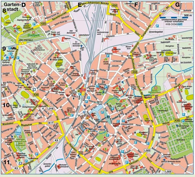 Stadtplan Neumünster