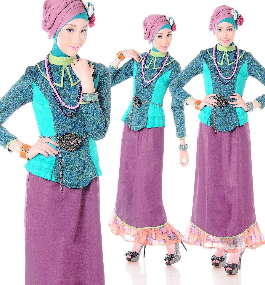 Model Baju Batik Kombinasi Renda Anggun Dan Elegan Gaya